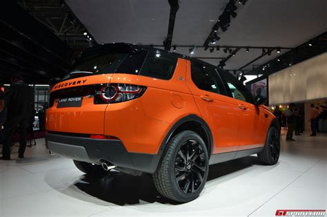 land rover discovery sport 2014 paris 2014 2015 land rover discovery sport gtspirit