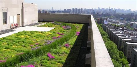 Balcony Design Ideas by Green Roofs On Every Building