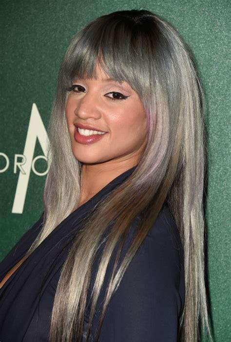 silver hair   prove  gray  glamorous reetos