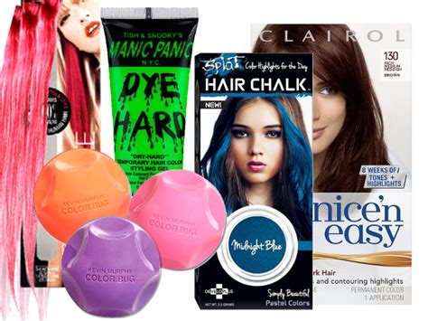 temporary hair color for black hair best temporary hair dyes