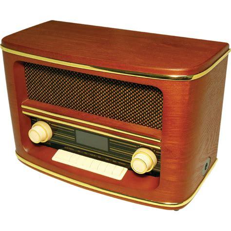 Speaker Bluetooth Mixstyle wolverine data retro style bluetooth speaker with am fm rsr100