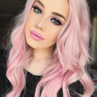 and pink hairstyles 25 pink hairstyles to swoon