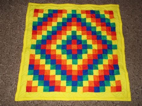 Trip Around The World Baby Quilt Pattern by Pin By Hillside Hobby Quilts On Etsy