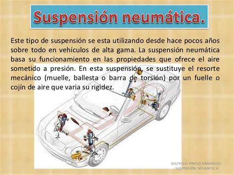 tabla de fallas sistemas electromecnicos suspension neumatica