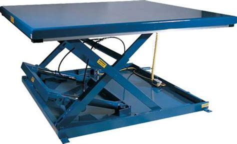 hydraulic pallet lift table vestil ehltx low profile electric hydraulic lift tables