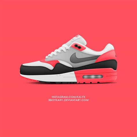 infrared color what if nike air max 1 infrared