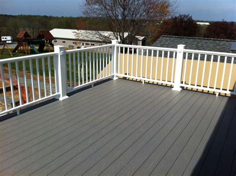 md azek slate gray decking decks pinterest gray