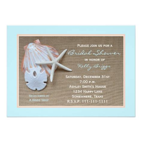 themed invitations template theme bridal shower invitation burlap 5 quot x 7