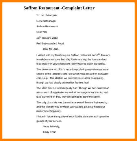 Complaint Letter Disappointment 7 How To Write A Letter Of Disappointment Daily Task