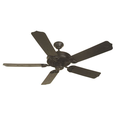 Black Outdoor Ceiling Fan With Light Craftmade Lighting Outdoor Patio Fan Flat Black Ceiling Fan Without Light K10163 Destination