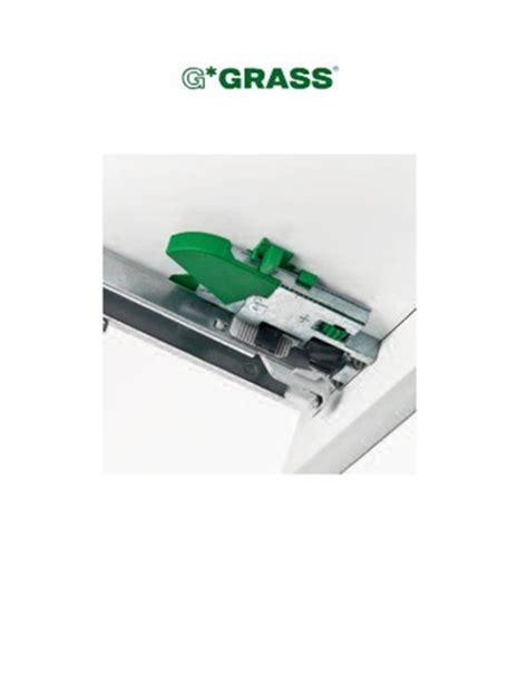 Grass Drawer Runners by Grass Dynapro 21 Quot 533mm Undermount Drawer Slide 3d