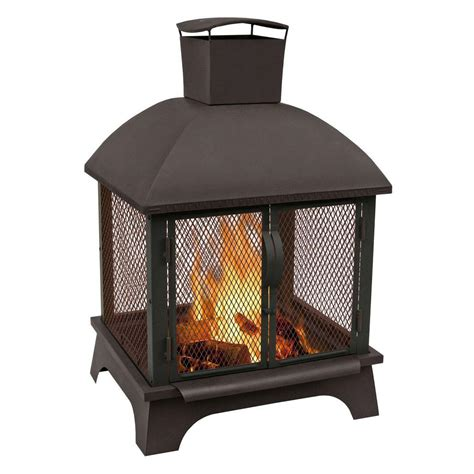 Outdoor Fireplaces Home Depot by Outdoor Fireplaces Outdoor Heating The Home Depot
