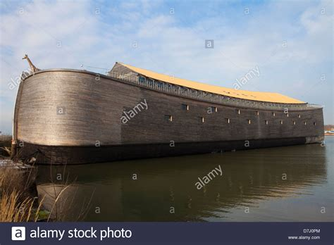 ark boat museum replica of the arc of noah built at real scale as a