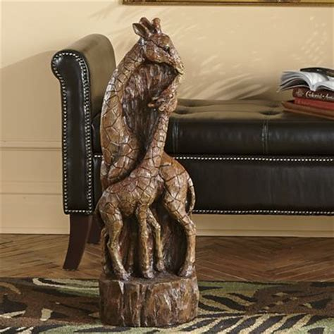 giraffe statue home decor giraffe statue from montgomery ward s9732143