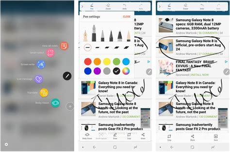 android print screen how to take a screenshot on the galaxy note 8 android central