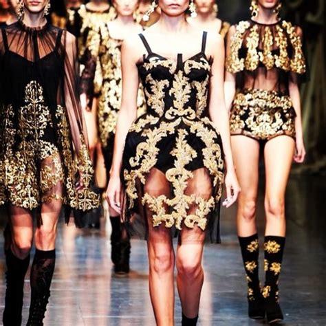 G Bonila Black dress black gold ornate dolce and gabbana dress black and gold wheretoget