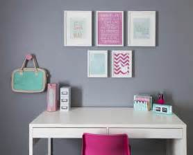 10 year bedroom ideas girl s bedroom desk with pink white mint accessories