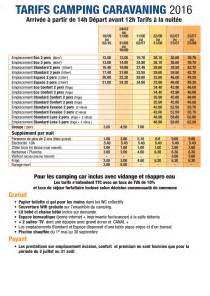 tarifs locations mobil home et emplacements cing ile
