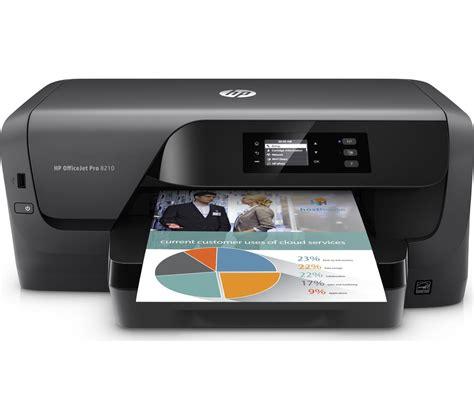 Printer Wifi Hp buy hp officejet pro 8210 wireless inkjet printer 953xl black ink cartridge free delivery