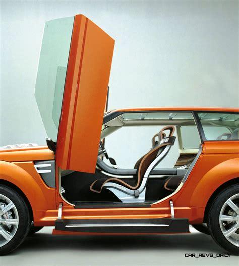 supercar suv concept flashback 2004 range stormer previewed high