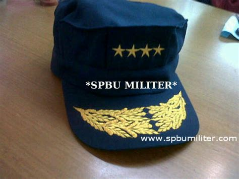 Topi Pamen Polri Melati 2 Limited topi harian jendral tni al spbu militer