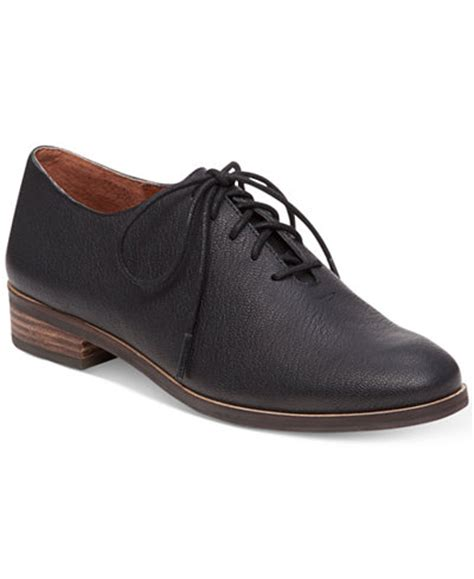 macy s oxford shoes lucky brand s castener lace up oxfords flats