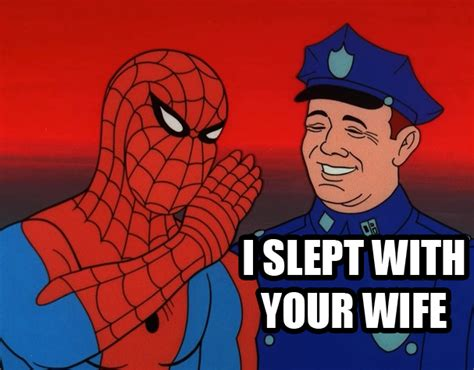 60s Spiderman Meme - image 210437 60s spider man know your meme