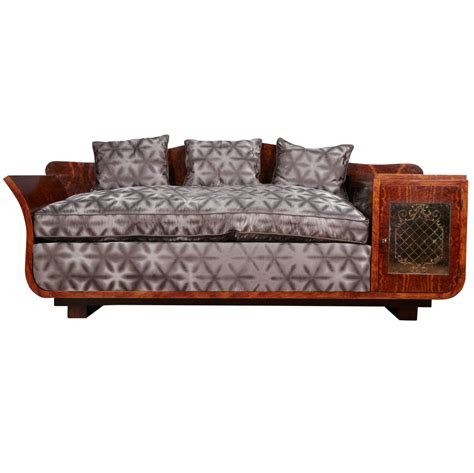 art deco sectional sofa extraordinary art deco sofa for sale at 1stdibs
