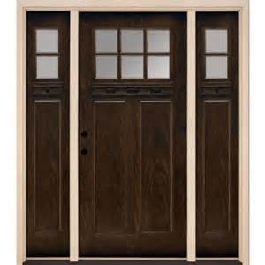 home depot craftsman door feather river doors 6 lite clear craftsman stained
