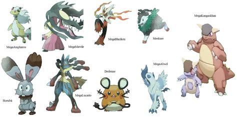 nuevas imagenes de pokemon xy pokemon x y mega evolution by krocf4 on deviantart
