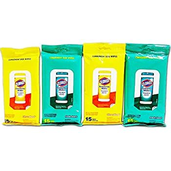 amazoncom clorox disinfecting wipes    bleach  travel wipes citrus blend