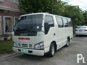Isuzu Davao Isuzu Ivan 17 Seaters For Rent Davao City For Sale In