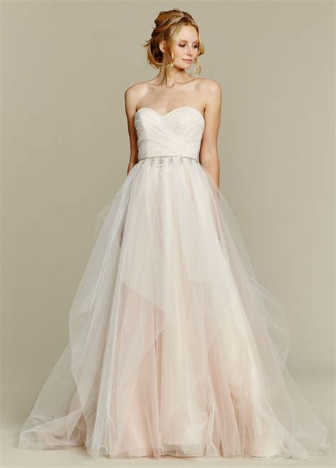 20 stunning blush wedding dresses for bride be
