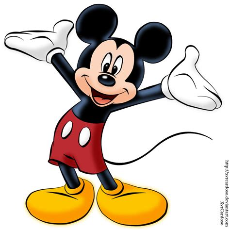 painting mickey mouse mickey mouse by xvrcardoso on deviantart