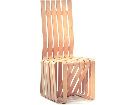 frank s upholstery gehry high sticking chair hivemodern com
