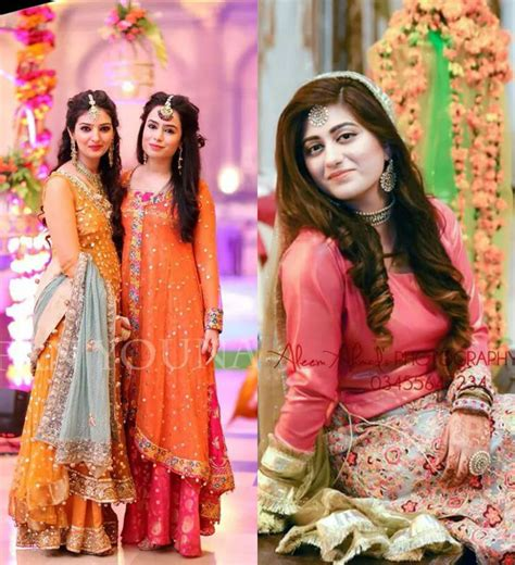 Awesome Hairstyles for Girls on Mehndi Function