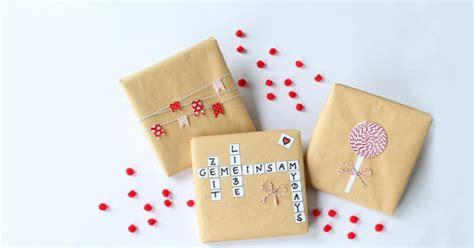 Geschenke Kreativ Verpacken by Geschenke Verpacken Tipps Und Anleitungen Mydays Magazin