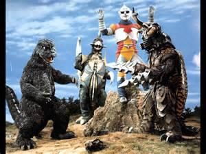 Godzilla And Jet Jaguar Godzilla Vs Megalon 1973 Quot Godzilla And Jet Jaguar