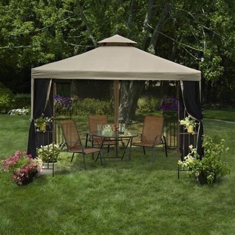 Gazebo Canopy Tent Outdoor Garden Patio 10 X 10 Party Patio Gazebo 10 X 10