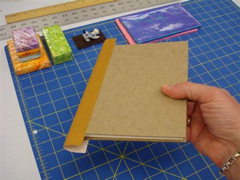 How To Make A Paper Book Cover - how to make a book the preservation lab