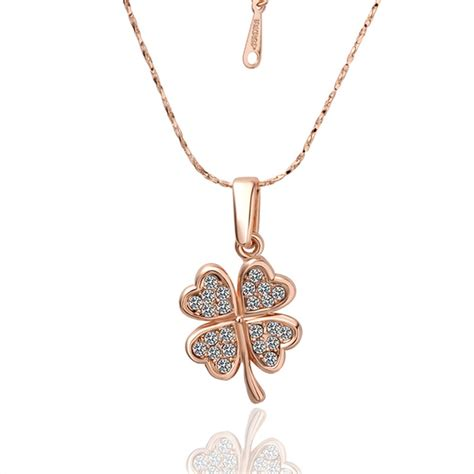 Kalung Fashion Korea Rhinestones Jewelery 2013新款镶钻镀玫瑰金项链