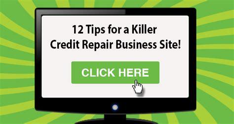 Credit Repair Business Website Template 12 tips for a killer credit repair business website