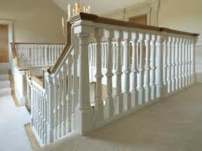 Spindle Staircase Ideas Oak Staircase White Spindles Design Treads Combine With Black Handrail And White Banister Photos