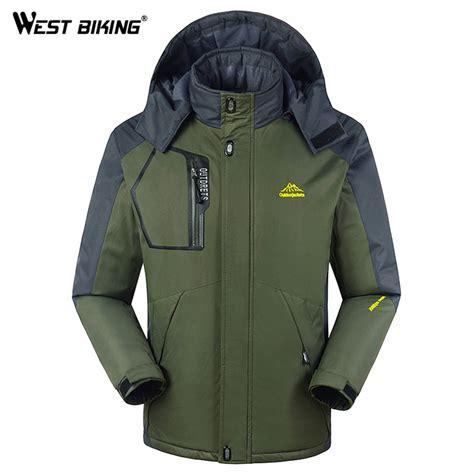 best windproof cycling jacket aliexpress com buy winter men fleece windbreaker outdoor