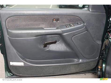 Gmc Door Panel by 2001 Gmc 1500 Sle Extended Cab 4x4 Graphite Door