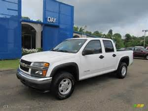 2005 summit white chevrolet colorado ls crew cab 4x4