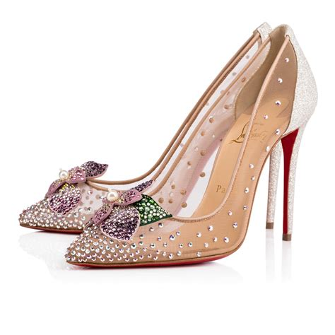 High Heels Shoes Christian Lauboutin 1968 christian louboutin feerica embellished sole white in version ab modesens