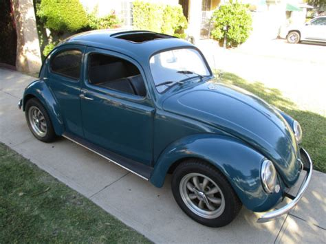 volkswagen beetle classic for sale 1964 vw bug working factory sunroof solid california