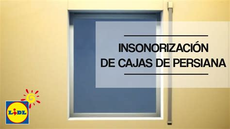 cajon translation insonorizaci 243 n de cajas de persiana youtube