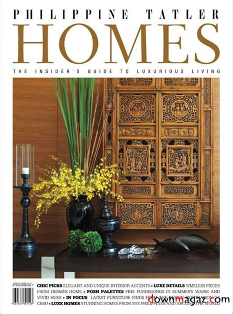 home design magazine philippines philippine tatler homes vol 3 187 download pdf magazines